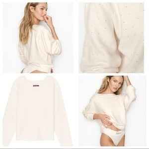 Victoria secret rhinestone sweater